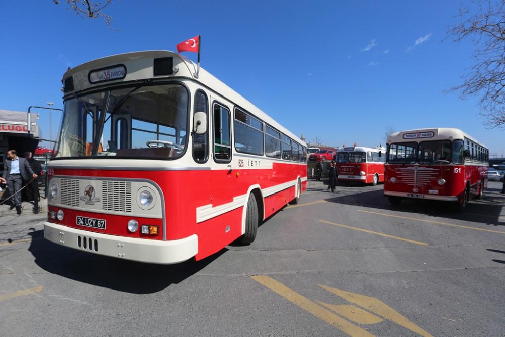 Nostaljik Otobüsler Sefere Başladı galerisi resim 4