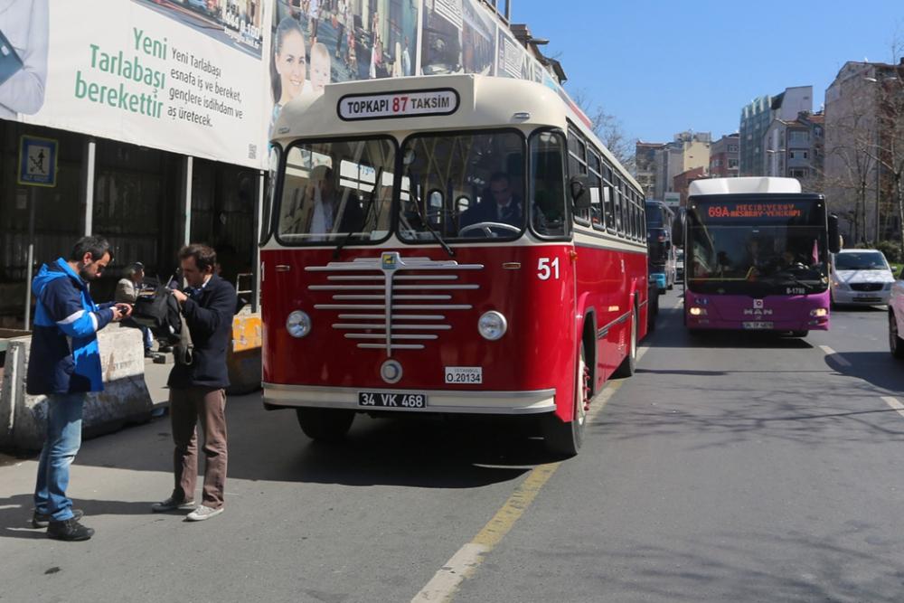 Nostaljik Otobüsler Sefere Başladı galerisi resim 6