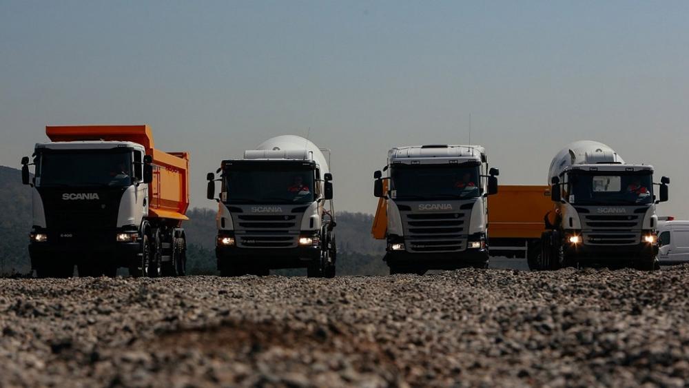 Scania Yeni İnşaat Araçları İle Ürün Gamını Genişletti galerisi resim 1