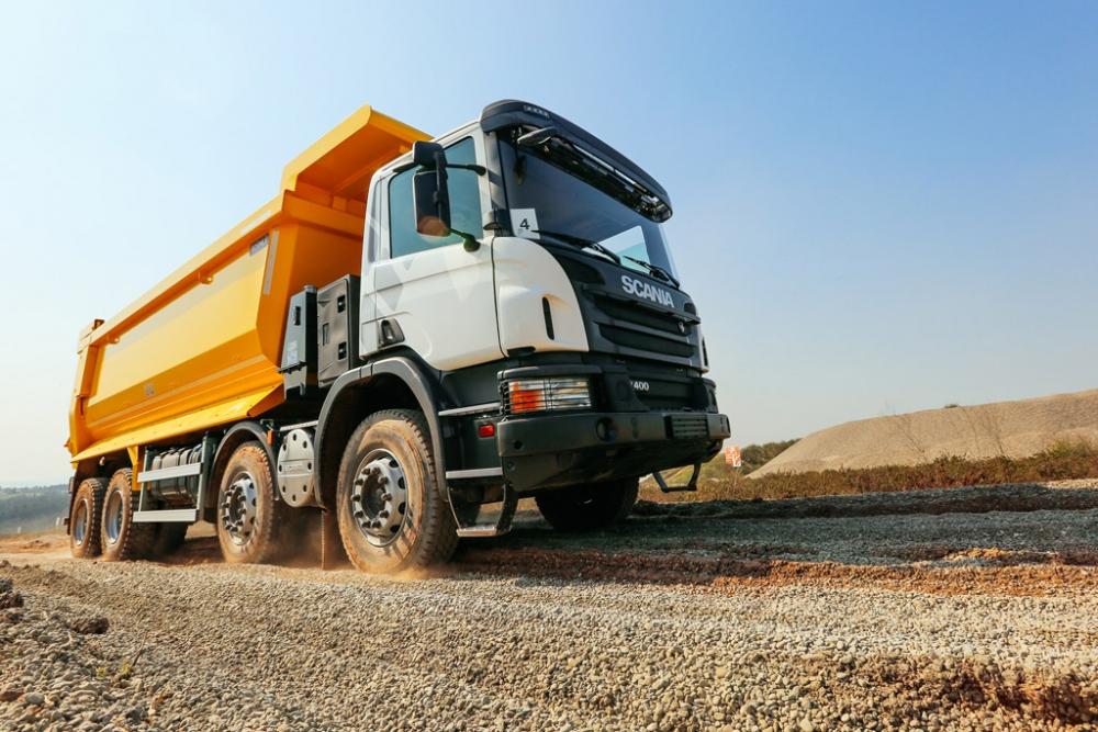 Scania Yeni İnşaat Araçları İle Ürün Gamını Genişletti galerisi resim 3