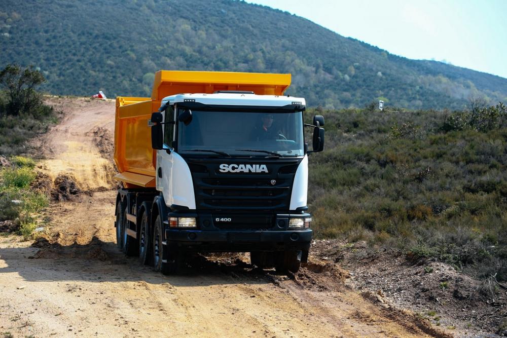 Scania Yeni İnşaat Araçları İle Ürün Gamını Genişletti galerisi resim 4