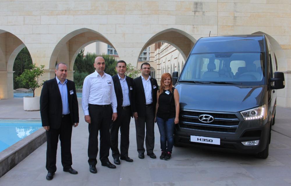 Karsan Üretimi Hyundai H350 Yola Türkiye'den Çıktı galerisi resim 1
