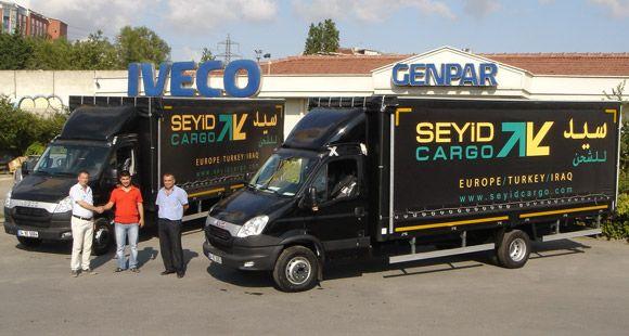 Genpar Otomotiv Seyid Kargo'ya 4 Adet Iveco Daily Teslim Etti