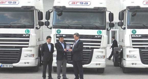 Arga Transport Filosunu DAF ve Tırsan İle Güçlendirdi