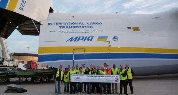 Chapman Freeborn Antonov AN-225 İle 140 Tonluk Kargoyu Teslim Etti
