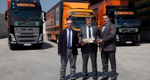 Fırat Plastik Filosunu Volvo İle Genişletiyor
