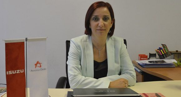 Anadolu Isuzu Bilgi Teknolojileri Müdürlüğüne Ebru Kökten Atandı