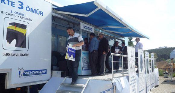 Michelin TIR'ı 3 Bin 835 Ağır Vasıta Sürücüsü İle Buluştu