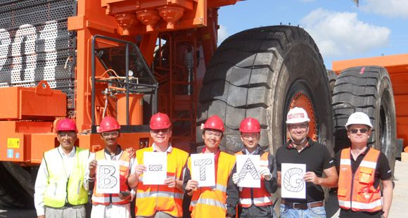 Bridgestone'un 3.9 Tonluk Kaya Kamyonu Lastikleri Türkiye'de