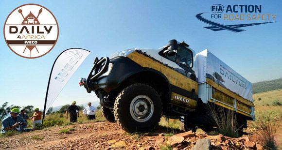 Iveco Daily 4x4 Afrika Turuna Katıldı