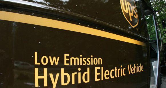 UPS'in Gönderileri Artarken Toplam Sera Gazı Emisyonu Azaldı
