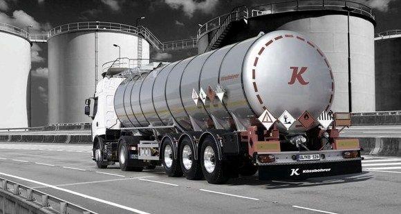 Kässbohrer Scharrer-Andresen'e Zift Tankeri Teslim Etti