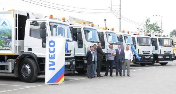 Iveco Bayii Özgözde Otomotiv'in Teslimatları Sürüyor