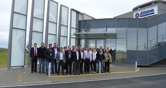 Allison Türk Firmalarını Macaristan'daki Üretim Tesisinde Ağırladı
