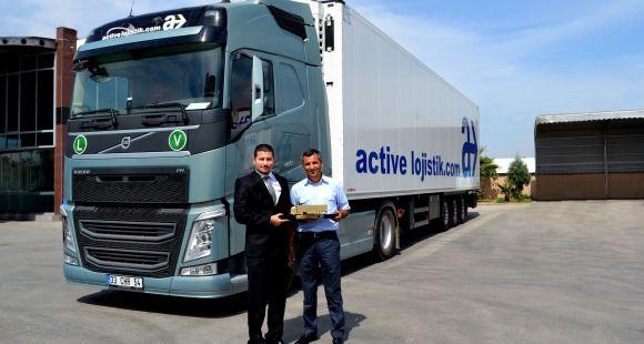 Active Lojistik Filosunu Volvo FH I-See Teknolojisi İle Büyüttü