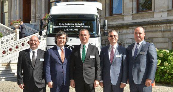 Eyüp Lojistik Mercedes-Benz Türk'ten Vazgeçmiyor