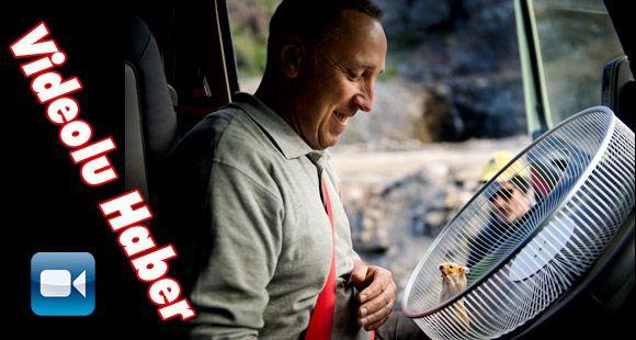 Bir Hamster Volvo Kamyon Kullanırsa