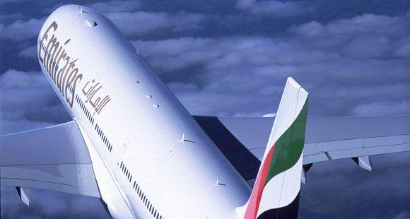 Emirates Kabil'e Uçuyor