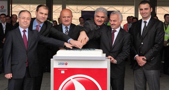 Turkish Cargo'nun Yeni Deposu Hizmete Açıldı