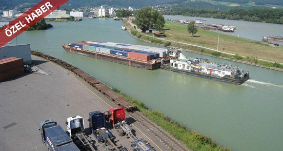 Taşımacıların Gündeminde Tuna Nehri Var