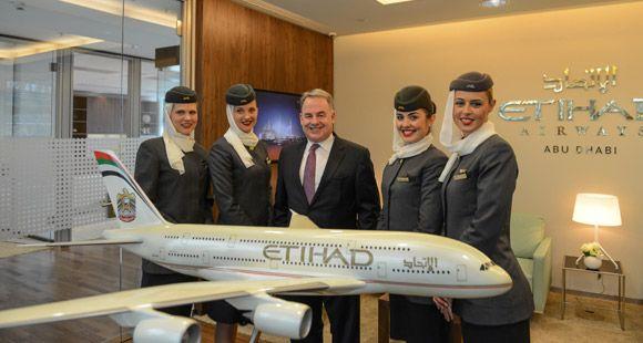 Etihad Havayolları Avrupa'daki Genel Merkezini Berlin'de Açtı