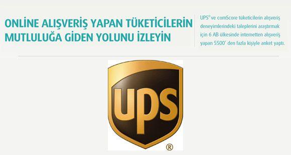 UPS İnternetten Alışveriş Yapanların Analizini Çıkarttı