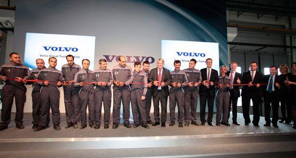 Volvo Group Trucks Türkiye Hadımköy Servis Merkezi'ni Açtı