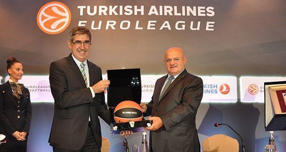 THY 2020 Yılına Kadar Euroleague Basketball'un İsim Sponsoru