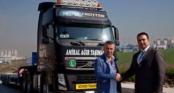 Volvo FH Amiral Lojistik'e Güç Katacak