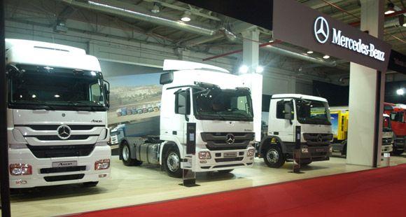 Mercedes-Benz Bursa Otoshow 2013 Fuarı'nda