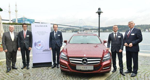 Daimler AG Türkiye'de 'Küresel IT Hizmetleri Merkezi' Kuruyor