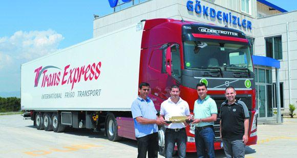 Trans Express Filosunu Volvo İle Güçlendirdi