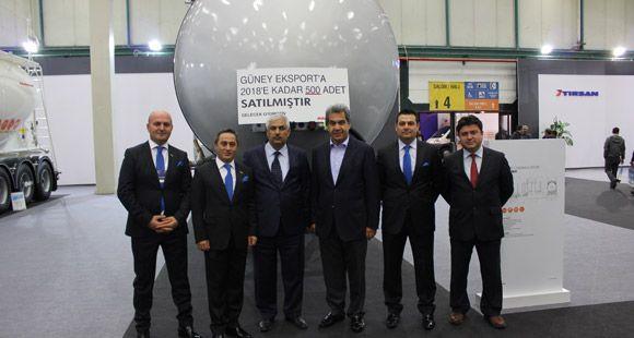 Güney Eksport Tırsan'a 500 Adet Kässbohrer Tanker Siparişi Verdi