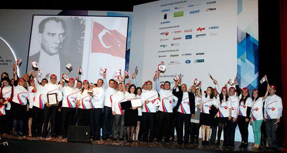 Aras Kargo 'Türkiye Mükemmellik Ödülü'nü Aldı