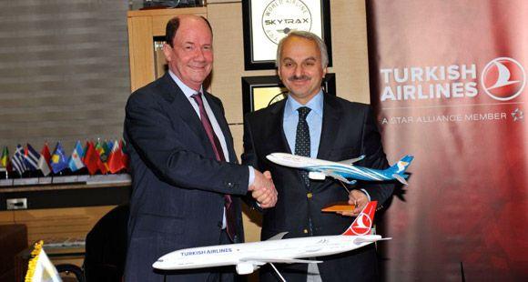 Türk Hava Yolları ve Oman Air Kod Paylaşım Anlaşması İmzaladı