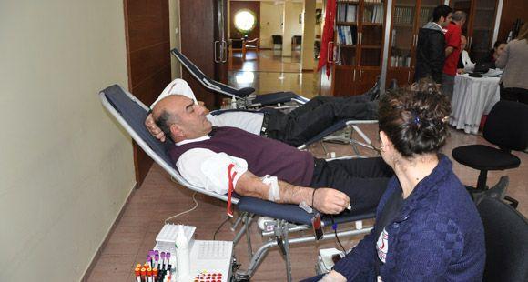 Omsan Çalışanları Kan Bağışında Bulundu