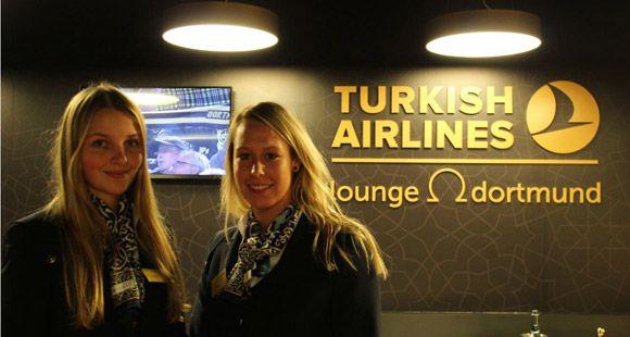 THY Borussia Dortmund Stadında Lounge'unu Hizmete Açtı