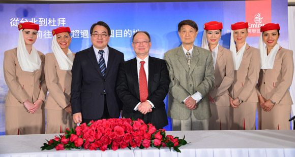Emirates Taipei Seferlerine Başlayacak