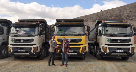 SNH İnşaat Volvo'yu Tercih Etti
