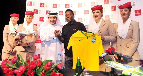 Emirates'in Küresel Temsilcisi Futbolun Efsane İsmi Pele Oldu