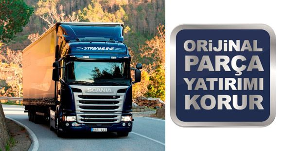 Scania'dan Yedek Parça İndirimi