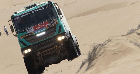 Dakar 2014'de Üç Iveco Aracı İlk Onda