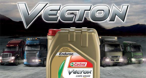 Castrol Ağır Ticari Araçlar İçin Yeni Motor Yağı Vecton'u Satışa Sundu