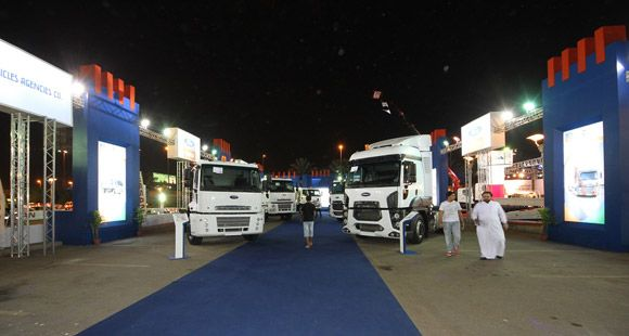 Ford Cargo Modelleri Suudi Motor Show'da Sergilendi