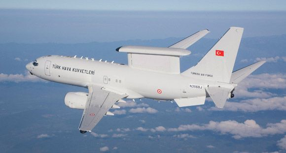 Boeing İlk Barış Kartalı Uçağını TSK'ya Teslim Etti