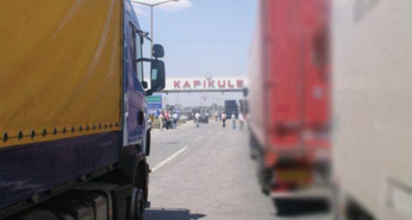 Bulgar Taşımacıları Sınır Kapılarını Kapattı