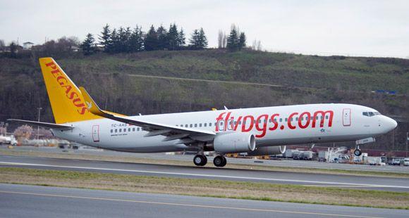 Pegasus Kuveyt Uçuşlarına Başlıyor