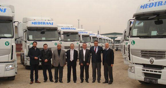 Mersinler Lojistik Renault Trucks İle Güçlendi