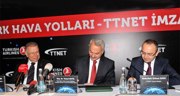 THY ve TTNET Arasında İşbirliği Anlaşması İmzalandı