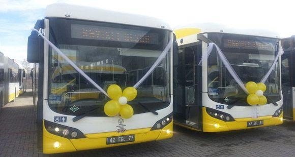 Bozankaya Grup'tan Konya'ya 60 Adet TCV Karat CNG Otobüs